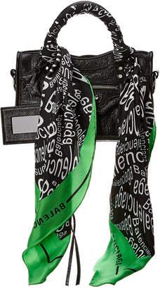 Balenciaga Classic City Scarf Mini Leather Shoulder Bag