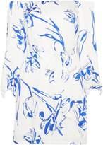Bardot Tash tie waist short dress