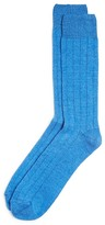 The Men's Store at Bloomingdale's Ribbed Cashmere Blend Socks in Gift Box