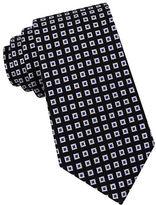 Black Brown 1826 Diamond-Knit Silk Tie