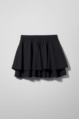 Weekday Kate Skirt - Black