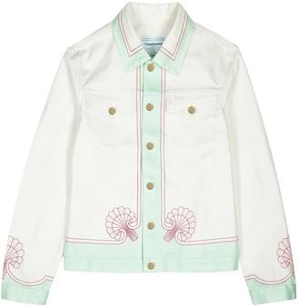 Casablanca Les Coquillages printed denim jacket