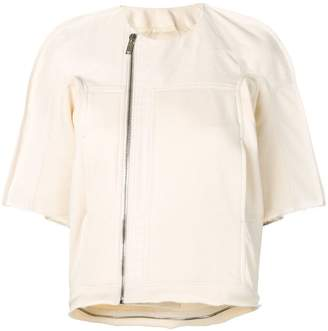 Rick Owens oversized short-sleeve jacket