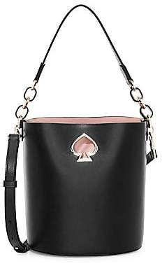 Kate Spade Women's Small Suzy Leather Bucket Bag