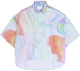 Fenty Oversized cropped printed shirt