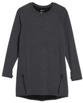 Zella Girl's Zipper Sweatshirt Dress