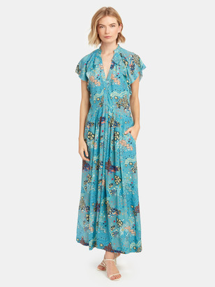 Zadig & Voltaire Ruskie Glam Rock Maxi Dress