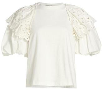 Sea Puff Sleeve T-Shirt