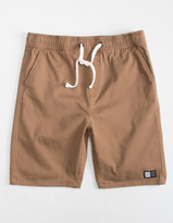 LIRA Charger 2 Boys Brown Volley Shorts