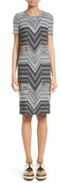 Missoni Women's Patchwork Wool Blend Knit Dress