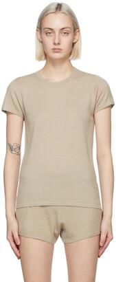 Frenckenberger Beige Cashmere Perfect T-Shirt