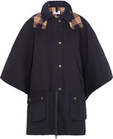 RED Valentino Cotton Mackintosh cape