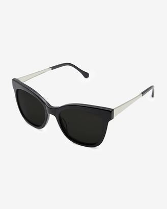 Express Felix Gray Stevens Oversized Sunglasses