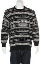 Alexander Wang Fair Isle Wool & Cashmere Sweater