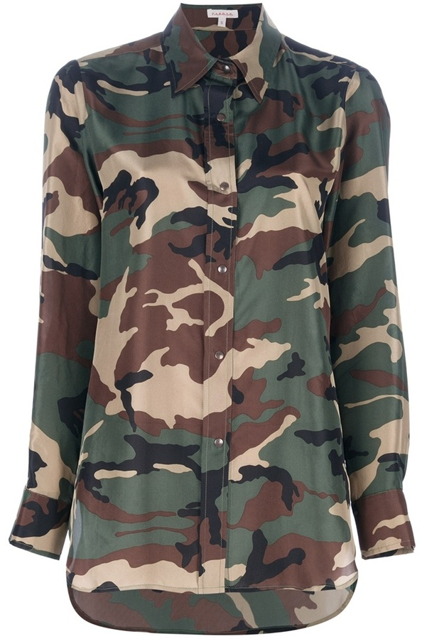 P.A.R.O.S.H. camouflage blouse