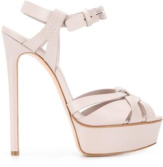 Casadei Flora stiletto sandals