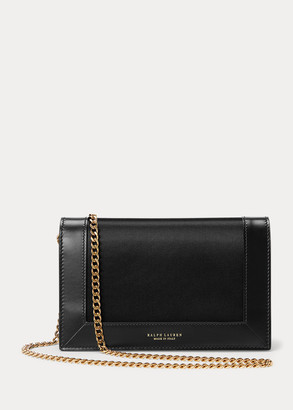 Ralph Lauren Satin-Calfskin Chain Wallet
