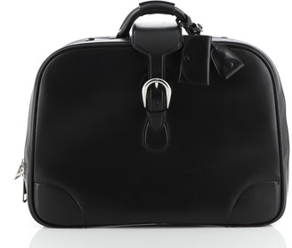 Gucci Belted Carry On Duffle Bag Leather Medium