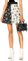 Fausto Puglisi Sol Stamp Skirt in Abstract,Black,White.