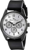 Lucien Piccard Men's LP-10588-BB-02S Moderna Analog Display Japanese Quartz Black Watch