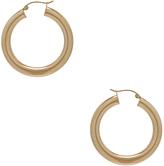 ERTH 14K Gold Hoop XXX Earring
