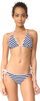 Shoshanna Mitered Triangle Bikini Top
