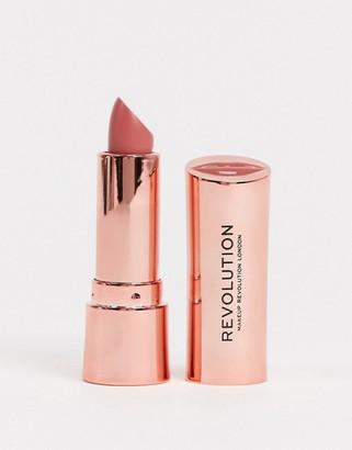Revolution Satin Kiss Lipstick - White Wedding