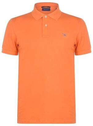 Gant Original Short Sleeve Rugger Polo Shirt