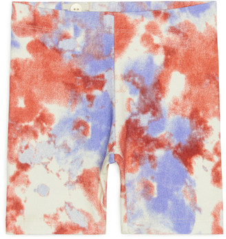 Arket Printed Jersey Bicycle Shorts