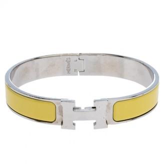 Hermã ̈S HermAs Clic H Yellow Other Bracelets