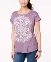 Style&Co. Style & Co Circular Graphic T-Shirt, Created for Macy's