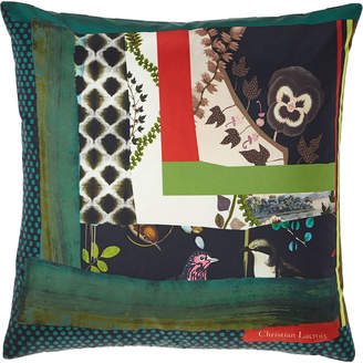 Christian Lacroix Pansy Patch Crepuscule Pillow