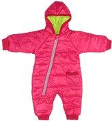 Gaorui Baby warm jumpsuit infant winter kids coat Siamese newborn romper climbing suit_-80