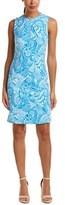 J.Mclaughlin Catalina Cloth Sheath Dress.