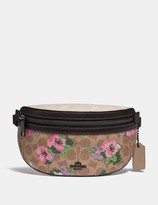 Coach Bethany Belt Bag In Signature Canvas With Blossom Print