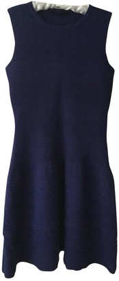 Maje Blue Wool Dresses