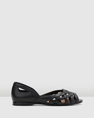 Hush Puppies Women's Black Flats - Wim - Size One Size, 6 at The Iconic