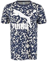 Puma Print Tshirt Peacoat