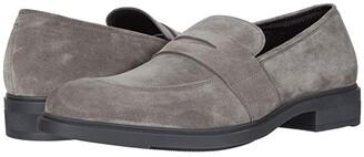 HUGO BOSS First Class Loafer (Medium Grey) Men's Shoes