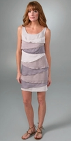 Sleeveless Dress with Layer Detail