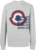 Moncler bullseye print sweatshirt - men - Cotton/Lyocell - S