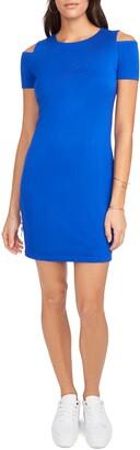 1 STATE Cold Shoulder Sheath Dress
