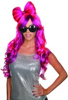 Rubie's Costume Co Costume Women's Bow This Way Adult Pink and Violet Wig