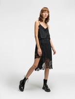 DKNY Asymmetric Slip Dress