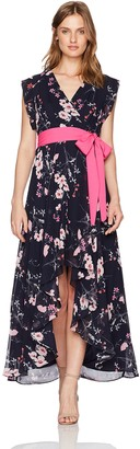 Brinker & Eliza Women's Surplus High-Low Dress (Regular & Petite)