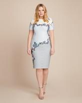 Yigal Azrouel Printed Scuba Dress