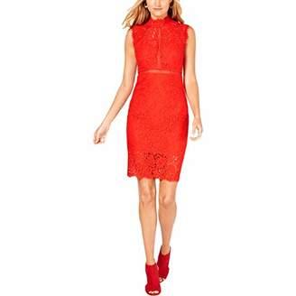 Bardot Women's lace Scallop Neckband Sleeveless Party Dress