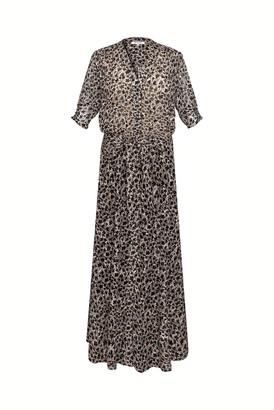 Gerard Darel Solidea - Long Devore Muslin Dress