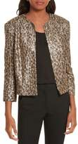 Helene Berman Sequin Crop Jacket