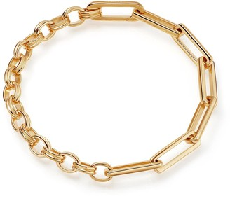 Missoma Gold Deconstructed Axiom Chain Bracelet